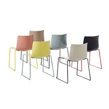 Arper - Catifa 46 0278 Chair Skids Lacquered