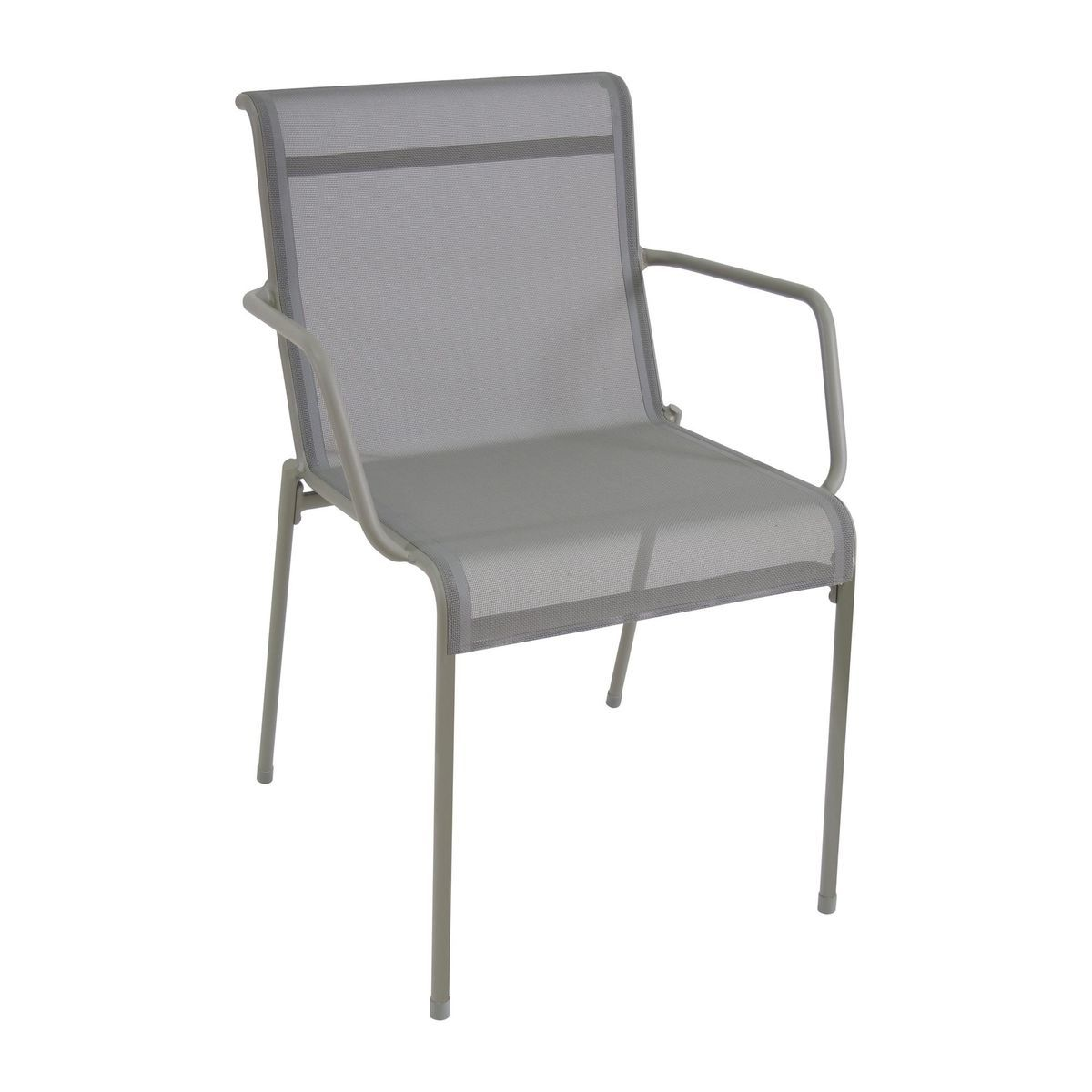 Emu   Kira Armchair Outdoor   Grey/Emu Tex/LxWxH 58x58x82cm