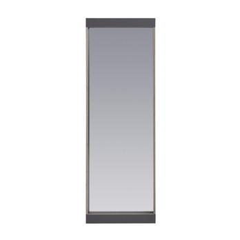 müller möbelwerkstätten - Flai Wandspiegel - anthrazit/Birkenkante/4cm Ablage/1.8cm CPL-Beschichtung/BxHxT 61x180x8cm