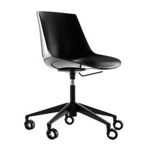 MDF Italia - Flow Office Chair With Star Base & Wheels