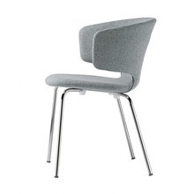 Alias - 503 Taormina Armchair chrome-plated