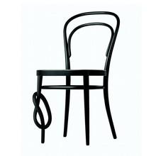 Thonet - 214 Chair with Wickerwork