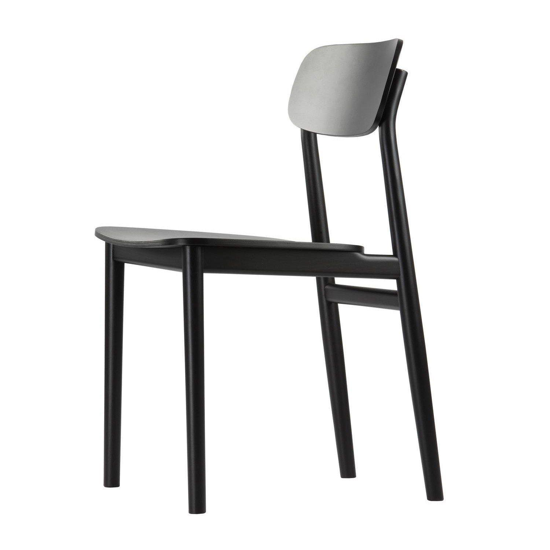 Thonet   Thonet 130 Chair   Black/black ...