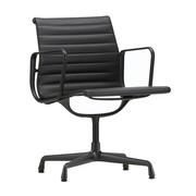 Vitra - Chaise avec accoudoirs EA 108 structure noir