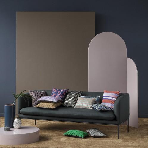 ferm LIVING - Salon Kissen Flamingo 40x40cm