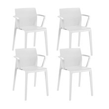 Arper - Juno 3603 Set Of 4 Armchairs