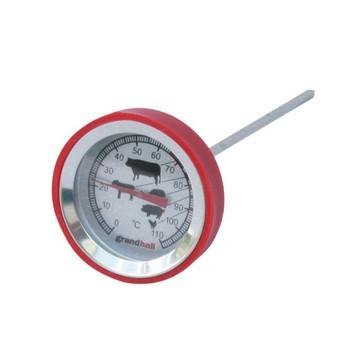 Grandhall - Grandhall Fleischthermometer - Einzelstück - edelstahl/Nur noch wenige verfügbar!