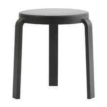 Normann Copenhagen - Tap Stool Black Oak Base