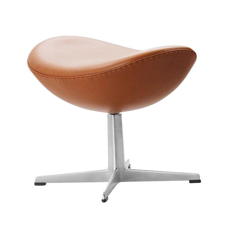 Fritz Hansen   Egg Chair / Das Ei Fußhocker Leder ...