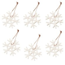 Hey-Sign - Christmas Ornament Set Snowflake
