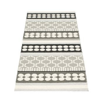pappelina - Asta Teppich 70x180cm - grau