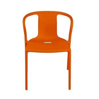 Magis - Air Armchair Armlehnstuhl - orange/matt/für Innen- und Außenbereich geeignet