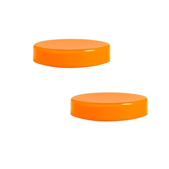 HAY - Bits & Bobs Glasschalen-Set 2tlg. Mini - orange/Ø6.5cm/H 1.5cm