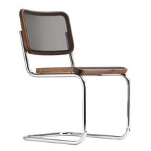 Thonet - Chaise cantilever S 32 N Pure Materials noyer