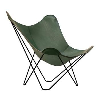 cuero - Mariposa Butterfly Chair Leder grün