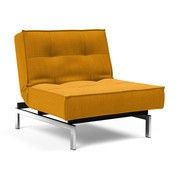 Innovation - Splitback Sessel Beine Chrom