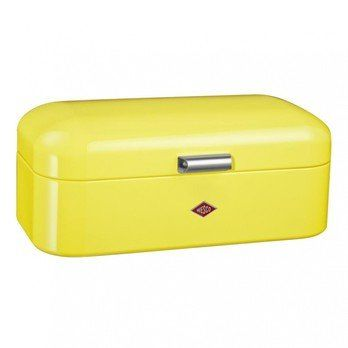 Wesco - Grandy Bread Bin - lemon yellow/steel