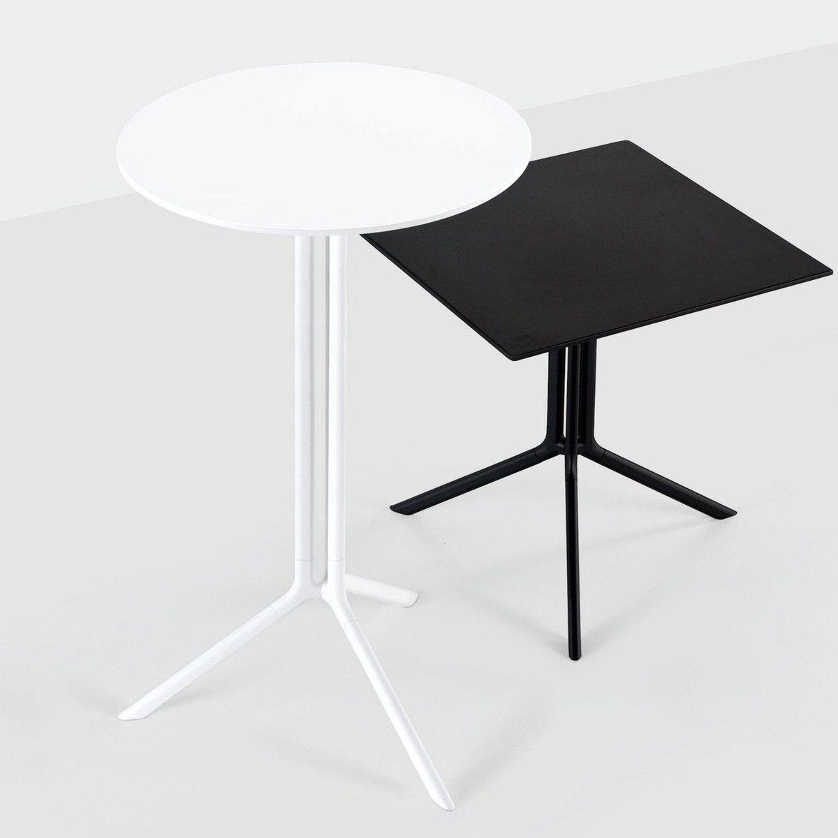 poule table de bistro rectangulaire 60x60cm kristalia. Black Bedroom Furniture Sets. Home Design Ideas