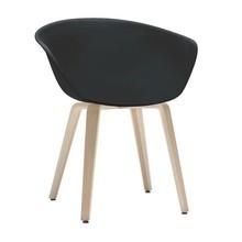 Arper - Duna 02 4203 Stuhl mit Holzgestell