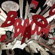 Ingo Maurer - Comic Explosion  Suspension Lamp - black & white & red/limited production
