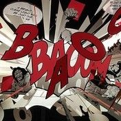 Ingo Maurer: Brands - Ingo Maurer - Comic Explosion  Suspension Lamp
