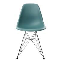 Vitra - Eames Plastic Side Chair DSR Gestell verchromt