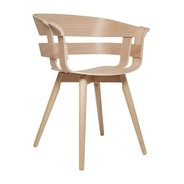 DesignHouseStockholm - Wick Armlehnstuhl mit Holzgestell
