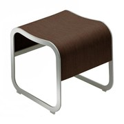 la palma - Za-1 Bank/Hocker stapelbar Gestell aluminium