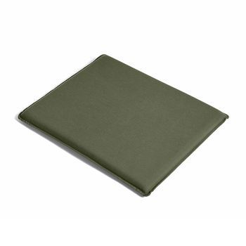 HAY - Palissade Sitzkissen 52.5x48cm - olivgrün/wasserabweisend/für Palissade Lounge Stuhl high & low