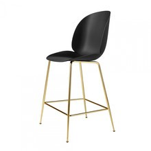 Gubi - Gubi Beetle Counter Chair Barhocker Messing 108cm