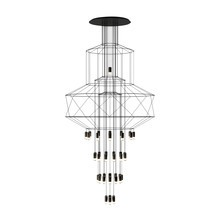 Vibia - Suspension LED Wireflow Chandelier 0374