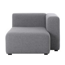 HAY - Mags Sofa Module Chaise Longue Right 97x127.5cm