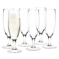 Holmegaard - Royal Champagnerglas 6er Set