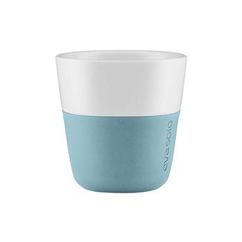 Eva Solo - Eva Solo Colour Grip Espressotasse - arktisch blau/2 Stück/80ml/H 6cm/Ø 6cm