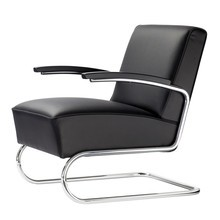 Thonet - S 411 Armchair 63x79x79cm Leather