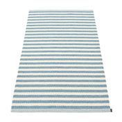 pappelina - Duo Teppich 85x160cm - misty blue/vanilla