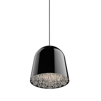 Flos - Can Can suspension Lamp - black/transparent