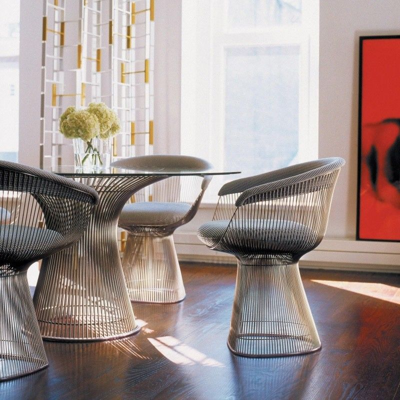 ... Knoll International   Platner Dining Table