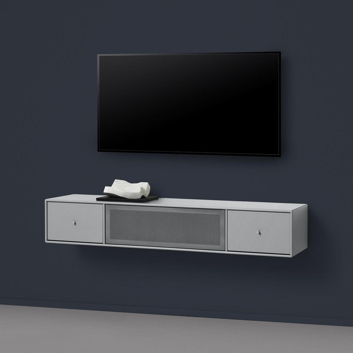 tv sound hub ii wandschrank montana. Black Bedroom Furniture Sets. Home Design Ideas
