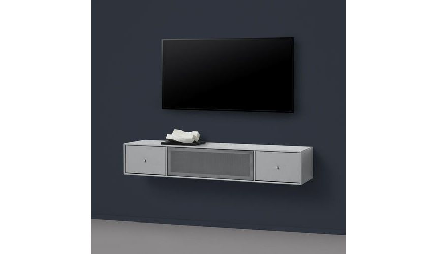 Tv & Sound Hub Ii Wall Closet | Montana | Ambientedirect.Com