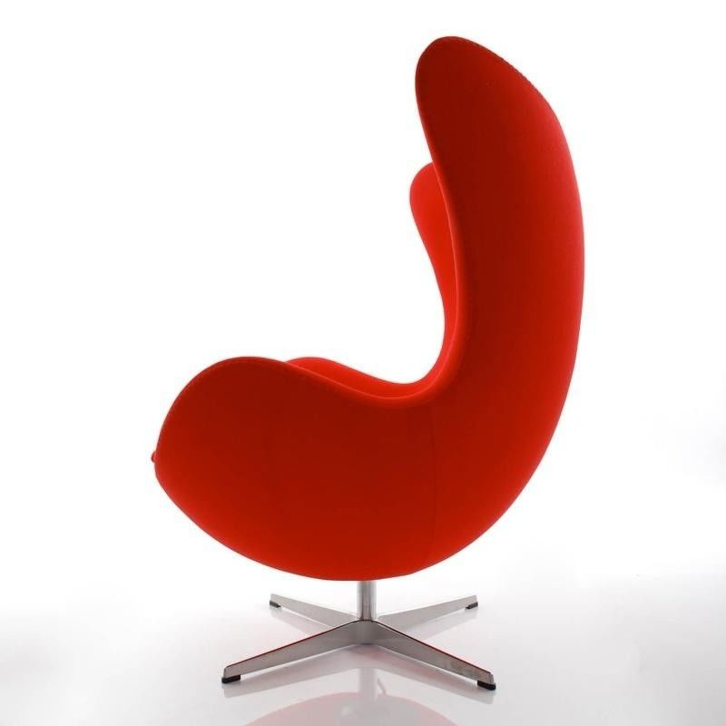 aktion egg chair das ei sessel hocker stoff fritz hansen. Black Bedroom Furniture Sets. Home Design Ideas