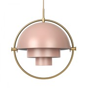 Gubi - Multi-Lite Suspension Lamp Ø32cm Frame Brass