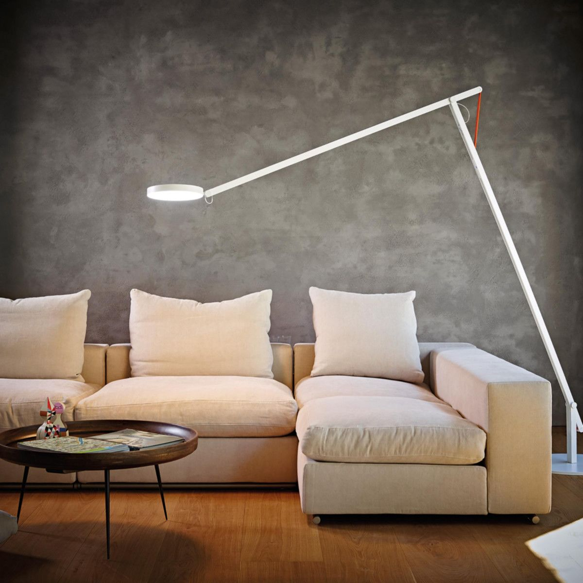 String XL LED Floor Lamp | Rotaliana | AmbienteDirect.com for String Floor Lamp  575lpg