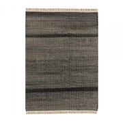 Nanimarquina - Tres Texture Black Outdoor Teppich 170x240cm