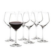 Holmegaard - Perfection Burgundy Glass Set Of 6