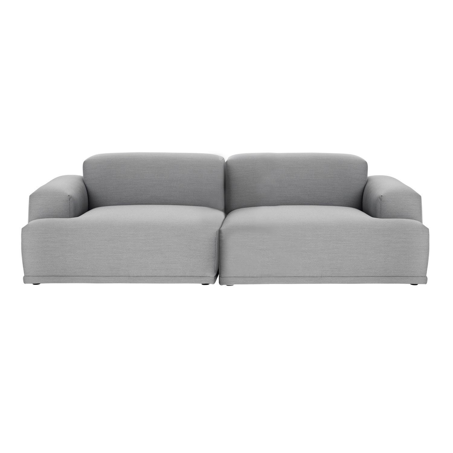 muuto connect lounge 2 sitzer sofa ambientedirect. Black Bedroom Furniture Sets. Home Design Ideas
