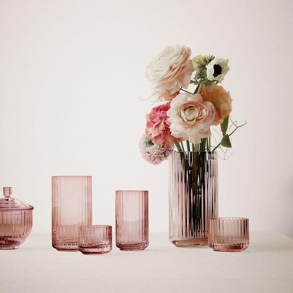 lyngby glass vase h15cm lyngby porcel n. Black Bedroom Furniture Sets. Home Design Ideas