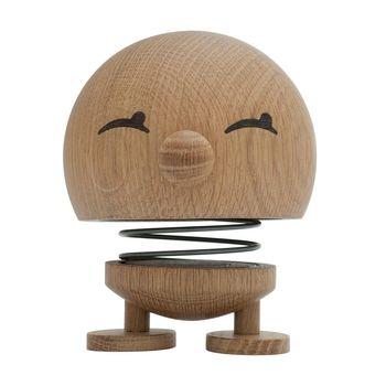 Hoptimist - Hoptimist Woody Bimble Wackelfigur - eiche/H13cm/Ø10cm/mit Federmechanismus