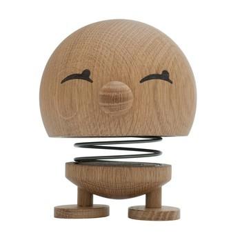 Hoptimist - Hoptimist Woody Bimble Push Puppet - oak/H13cm/Ø10cm/with spring mechanism