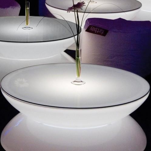 Moree - Lounge Table Glas-Tischplatte